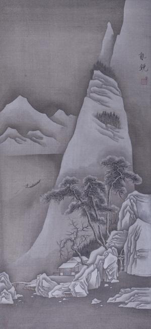 张能锐中国画作品赏析|中国画|山水画_凤凰资讯