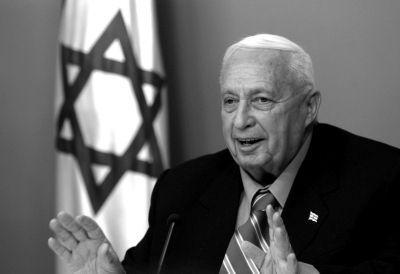 以色列前总理沙龙,资料图