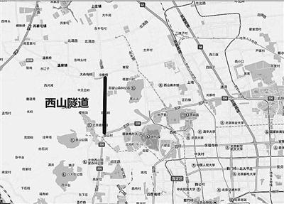 海淀区北部居民到香山和植物园会方便很多,驾车从冷泉村到香泉环岛,走