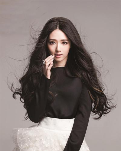 郭碧婷发型图片