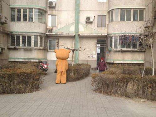 小熊支架安装步骤图解