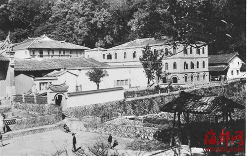 原标题:鼓山涌泉寺曾有栋小洋楼