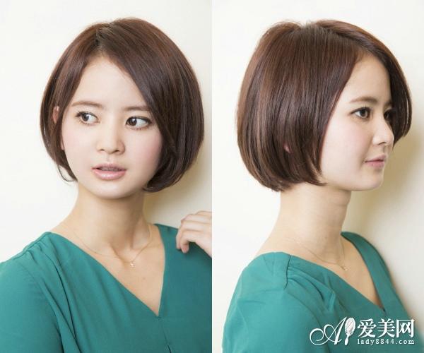 新款女生中短发发型来袭 主打淡雅风
