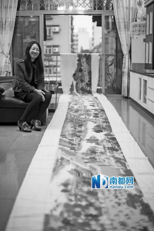我绣出《清明上河图》你考上小学重点|高中|妈中部中高郑州市31图片