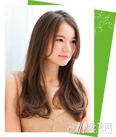 最新中长发发型图片 甜美首选日系