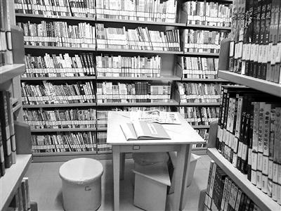 马连洼社区图书馆 将增儿童阅览区