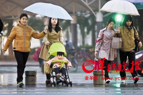 今明两天降雨又降温 广东开始进入强对流天气