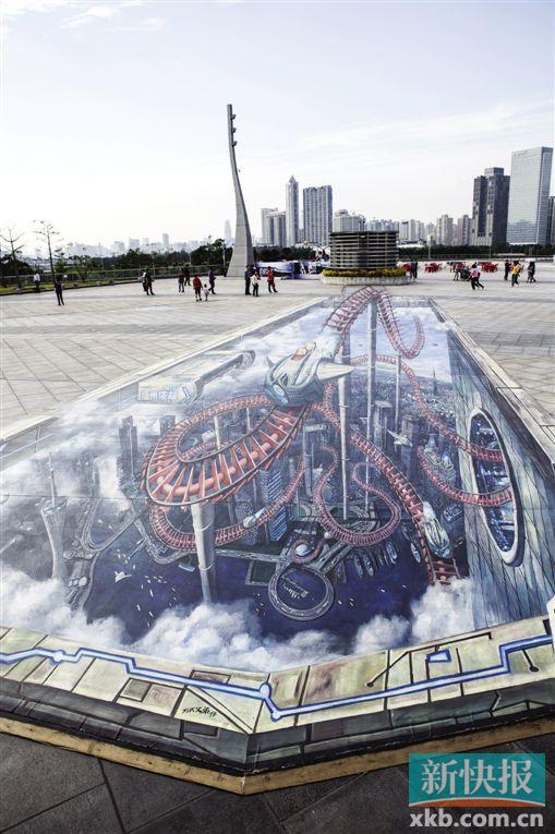 广州塔二楼珠江摄影观景平台(受访者供图)