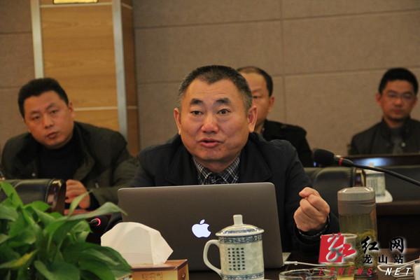 县委书记彭正刚讲话