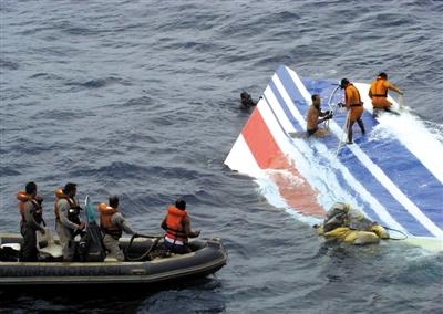 对比:马航飞机失联与法航客机失事事件
