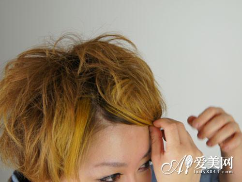 相关专题:扎发短发发型