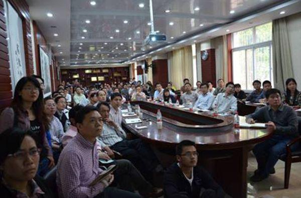 中国农业大学资环院张福锁教授来校作学术报告图片
