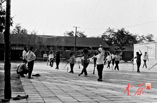 老照片:44年前的郑州地图