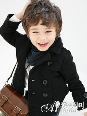 儿童短发发型图片 变身帅气小正太