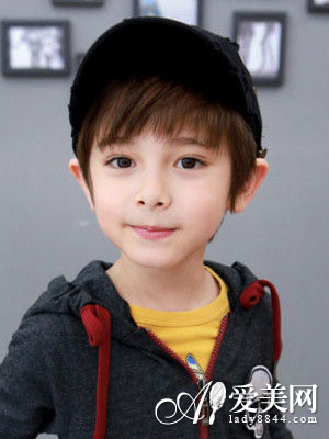 儿童短发发型图片 变身帅气小正太图片