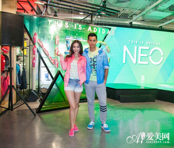彭于晏 杨颖彭/angelababy携手彭于晏助阵Adidas NEO Label 2014春夏发布...