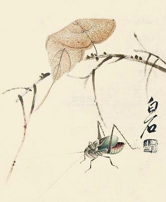 齐白石花鸟画欣赏
