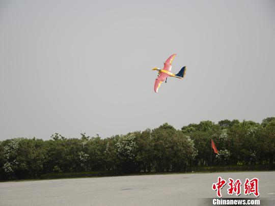 翼龙仿生电动飞机上海成功试飞(图)