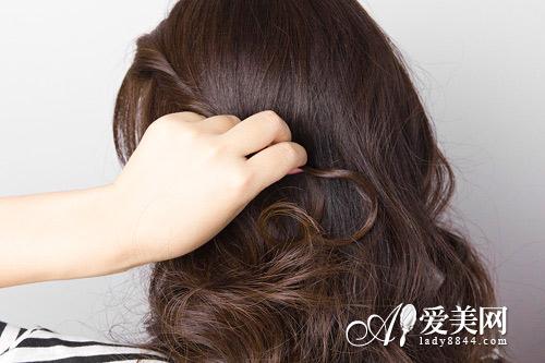 公主头发型扎法