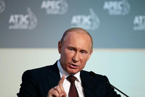 图为俄罗斯总统普京。