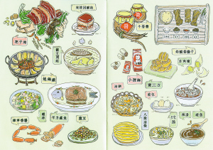 地方特产美食_把子肉,地锅鸡等特色美食