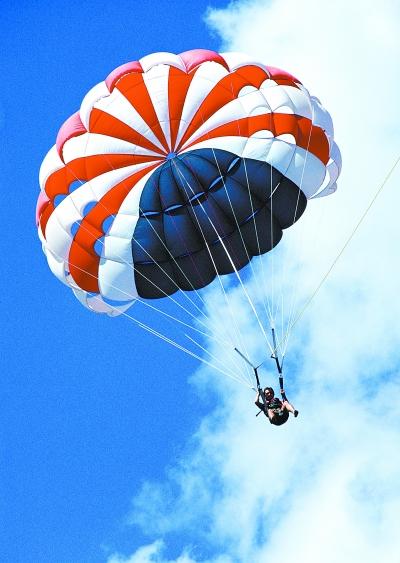 降落伞 航空时代必需品|飞机|起飞