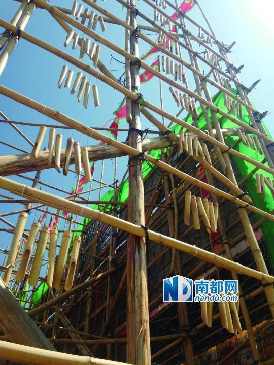 竹棚搭建步骤图