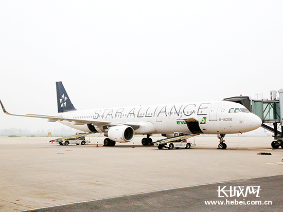 7月9日石家庄加密台北航线 周航班量达14架次