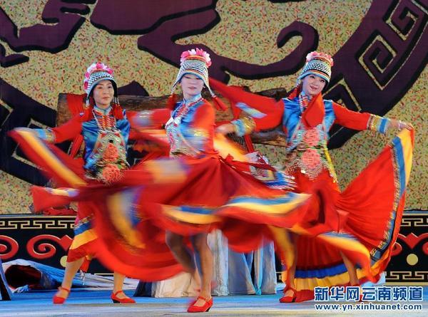 中国 楚雄2014彝族火把节开幕