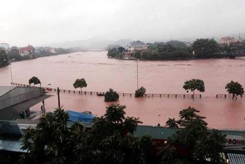 """台风""""威马逊""""肆虐影响越南北部地区,已经导致至少16人死亡。"""