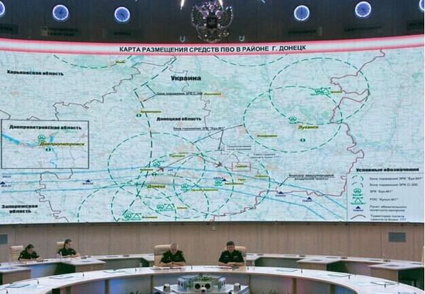 俄方公布监控资料:MH17因乌战机干扰偏离航线(图)