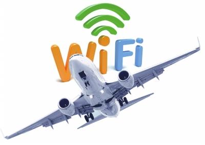 国内首架带wifi飞机启用 坐飞机可以刷微博了