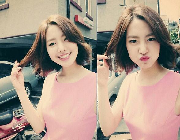 陈世妍面带微笑玩自拍 娇俏可爱性感迷人|照片|留言