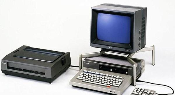 索尼在1982年就涉足了PC业务(图片来源:dailymail)