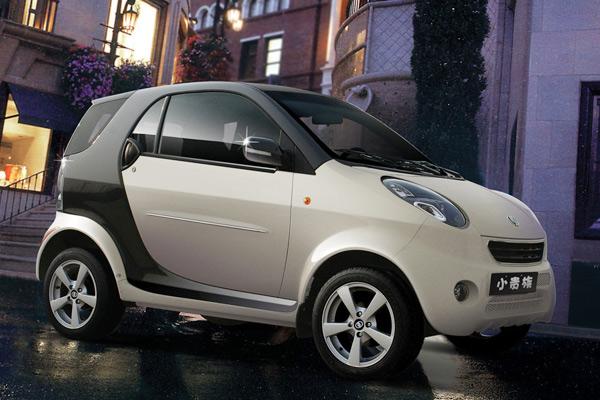 奔驰官方也表示双环小贵族抄袭了旗下车型smart,如果小贵族参高清图片