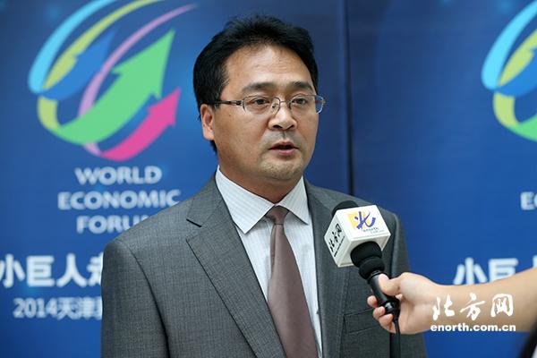 张新_建科机械(天津)股份有限公司常务副总经理张新接受北方网记者专访