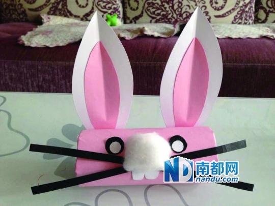 手工制作《小兔子》