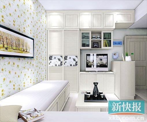 厨房客厅卫生间一体设计图片大全