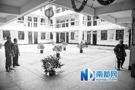 臺城敬老院環境優雅。
