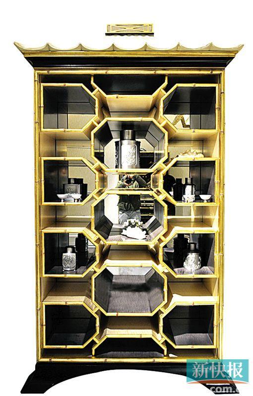 欧式橱柜柜顶线图片