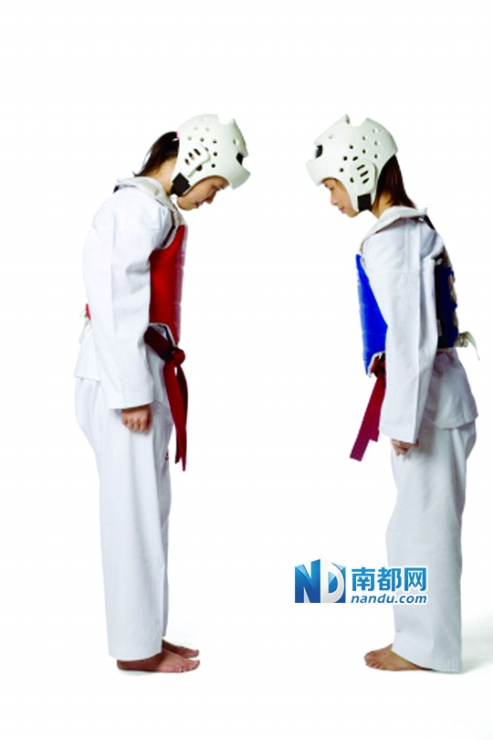 学跆拳道一定要先学挨打?|合练|脚法