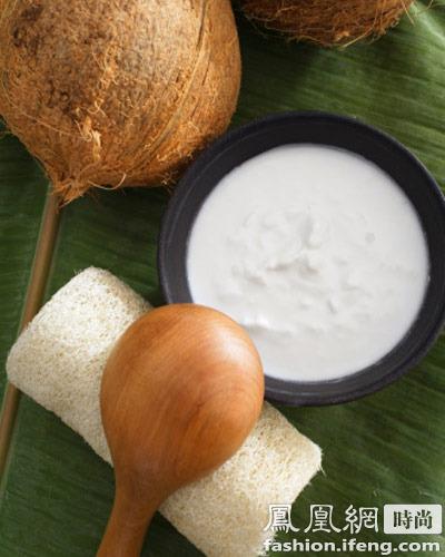 除皱顺发 椰子油的7个美容功效
