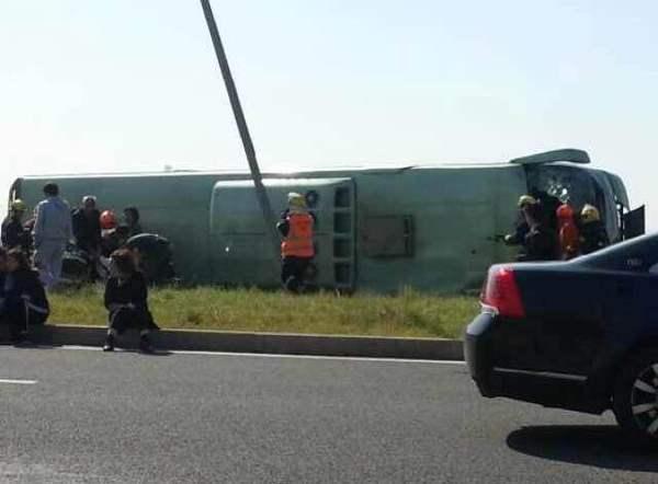 图为事故现场照片。东方网