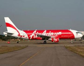 亚航一架由印尼飞往新加坡航班失联