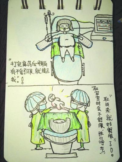 麻醉师有办法 画漫画