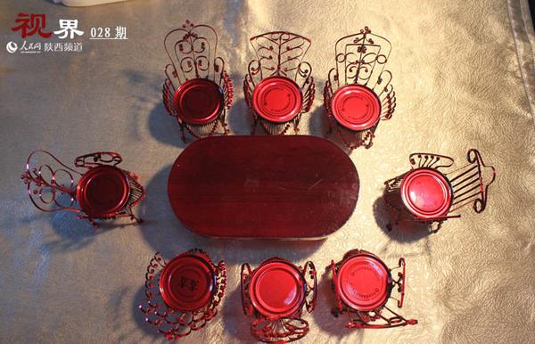 易拉罐制作椅子的步骤图解