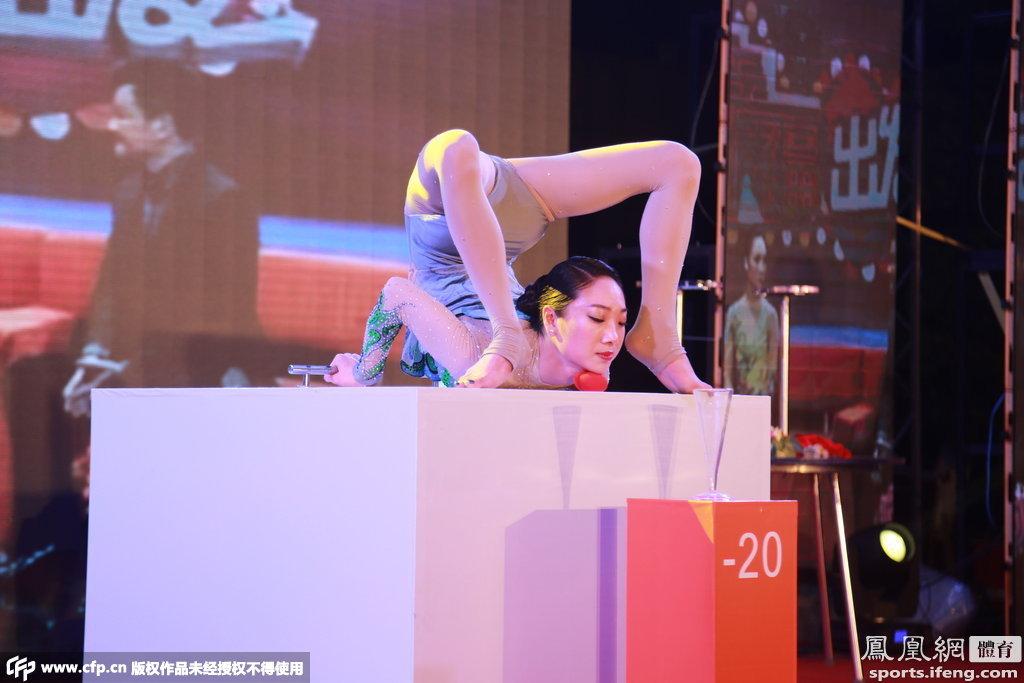 中国第一美女柔术刘藤令人柔若无骨登台叹为古代背影美女图片