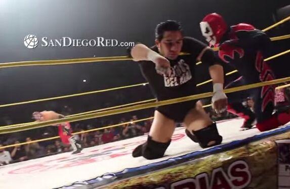 【视频】墨西哥摔角手被击身亡 瘫倒拳台竟无人察觉