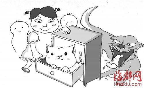 小猫背影简笔画步骤图解