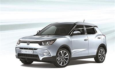 滚动新闻  原标题:涉足小型suv 双龙tivolan蒂维拉在上海车展亮相